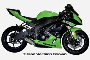 Graves Motorsports ZX6R / ZX636  Carbon Slip-on Exhaust