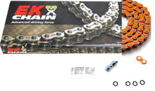 Load image into Gallery viewer, EK Chain 525 ZVX3 Series ZX-Ring Chain 120 Link Orange