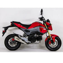 Load image into Gallery viewer, Hindle exhaust full system for GROM 2017-2020 Evo Megaphone System - Satin SS