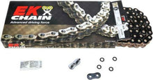 Load image into Gallery viewer, EK Chain 525 ZVX3 Series ZX-Ring Chain 120 Link Black