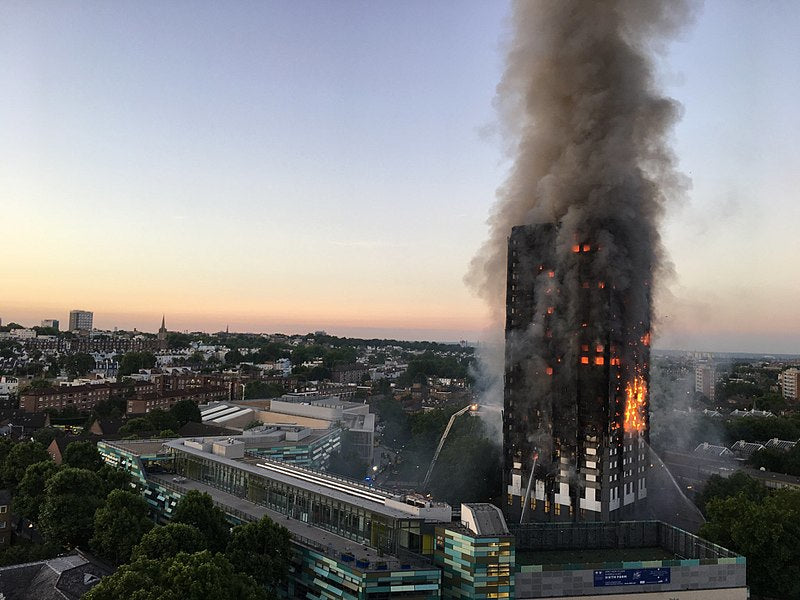 Are you concerned about Grenfell Tower Asbestos Dangers?