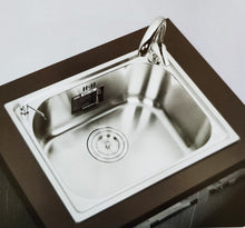 Load image into Gallery viewer, DANUBE Series Kitchen Sink DNP910BB Single Bowl-sink-RedBak International