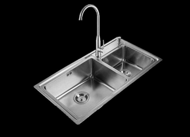 DANUBE Series Kitchen Sink DNP920AA Double Bowl-sink-RedBak International