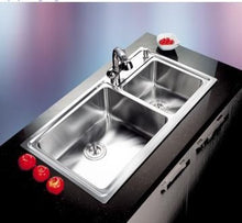 Load image into Gallery viewer, DANUBE Series Kitchen Sink DNP920AA Double Bowl-sink-RedBak International