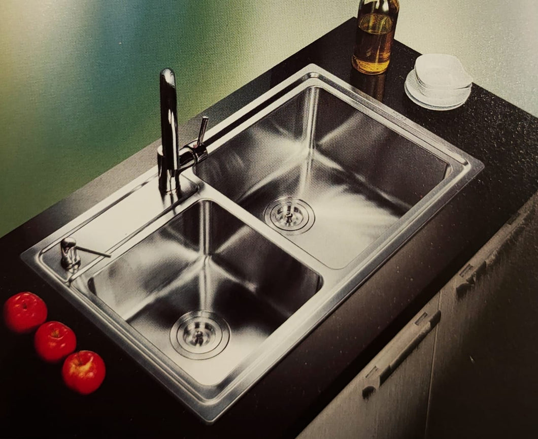 DANUBE Series Kitchen Sink DNP920BB Double Bowl-sink-RedBak International