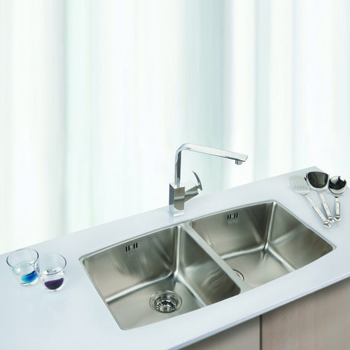 NEVA Series Kitchen Sink NEV920BB Double Bowl-sink-RedBak International