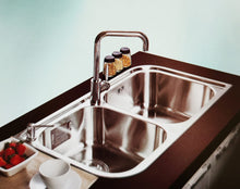 Load image into Gallery viewer, RHINE Series RIP920AA Square Double Bowl Kitchen Sink-sink-RedBak International