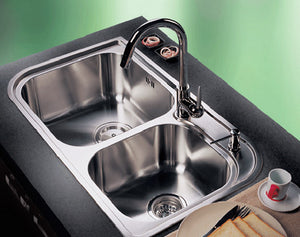 RHINE Series Kitchen Sink RIP920CC Double Bowl-sink-RedBak International