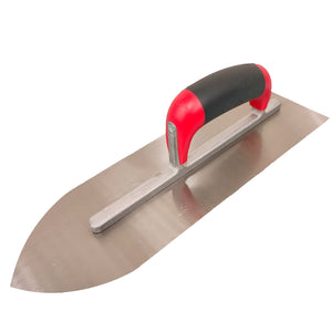 T-0101M Closed Handle Spring Steel Pointed Trowel-render/plaster-RedBak International