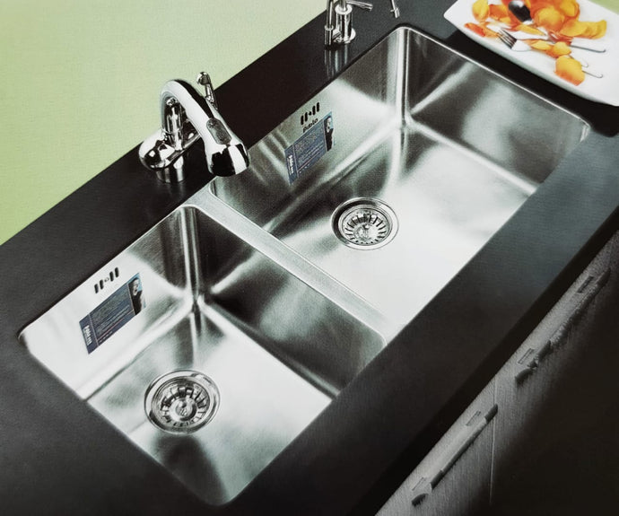 THAMES Series Kitchen Sink TMD920BD Double Bowl-sink-RedBak International