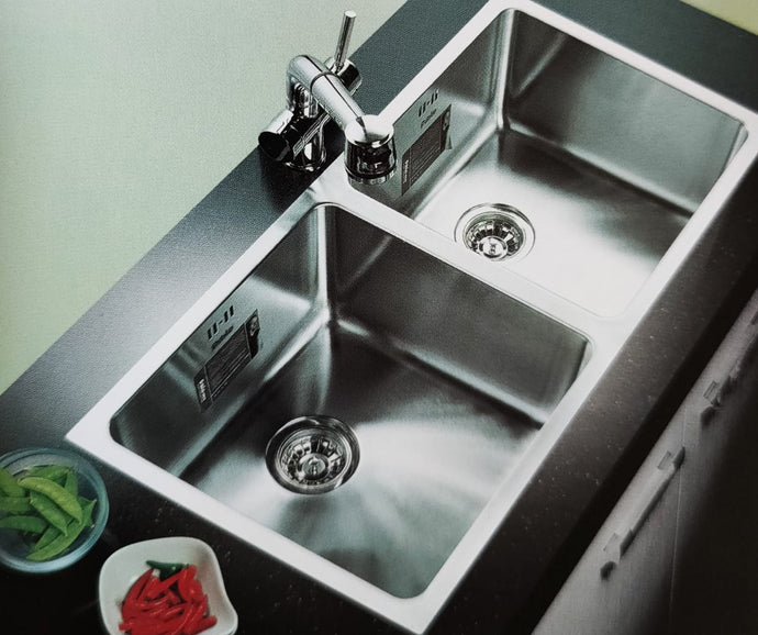 THAMES Series Kitchen Sink TMD920CC Double Bowl-sink-RedBak International