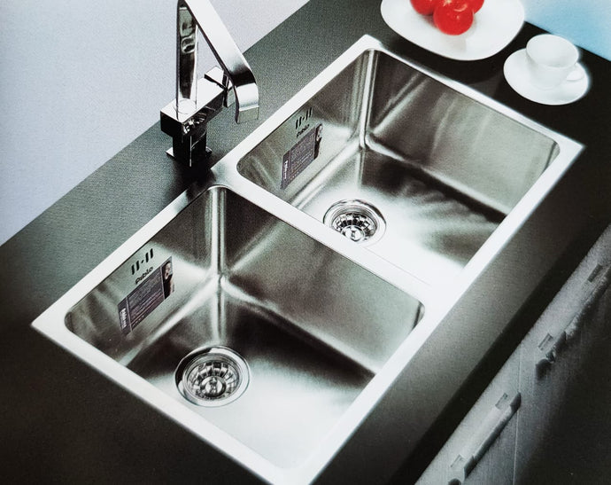 THAMES Series Kitchen Sink TMD920CD Double Bowl-sink-RedBak International