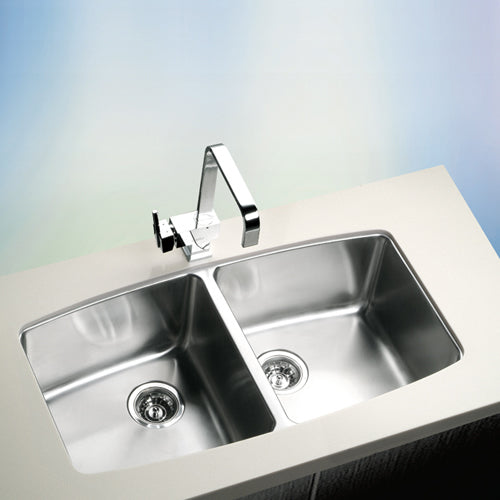 NEVA Series Kitchen Sink NEV920AA Double Bowl-sink-RedBak International