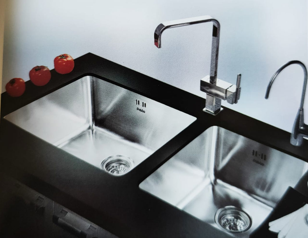 THAMES Series Kitchen Sink TMP920BD Double Bowl-sink-RedBak International