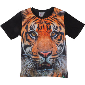 Load image into Gallery viewer, T-shirt tiger 6-7 år