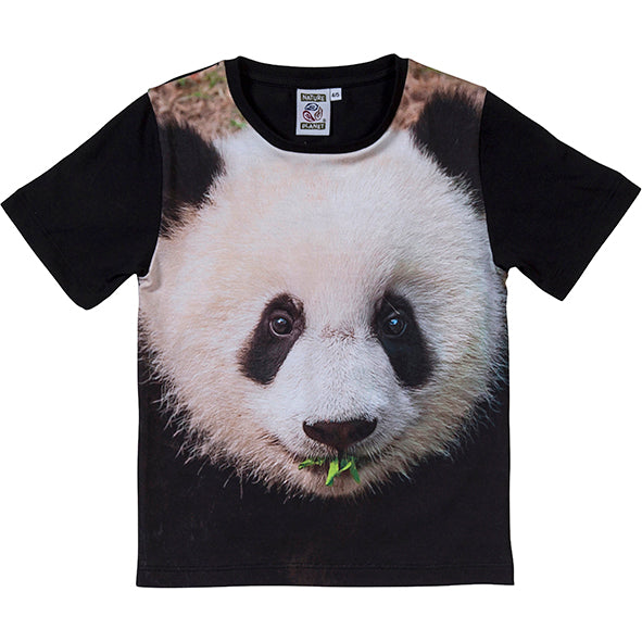Load image into Gallery viewer, T-shirt panda 8-9 år