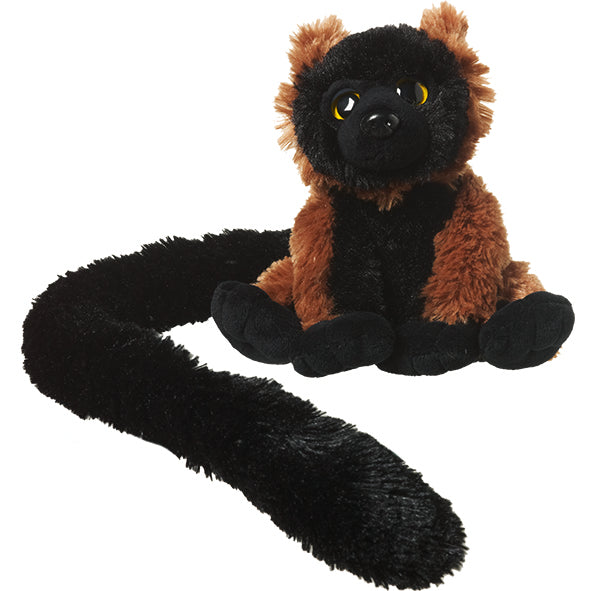 Long-Tail Red Ruffed Lemur