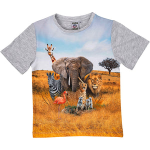 Load image into Gallery viewer, T-shirt savanne 4-5 år