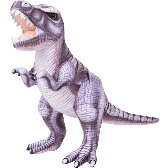 Load image into Gallery viewer, Dino Printed M T-Rex Purple