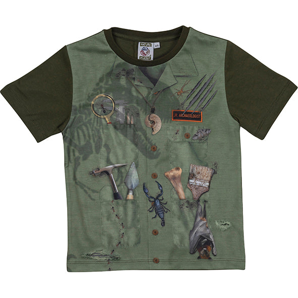 T-shirt Jr. Paleontologist 8-9 Years