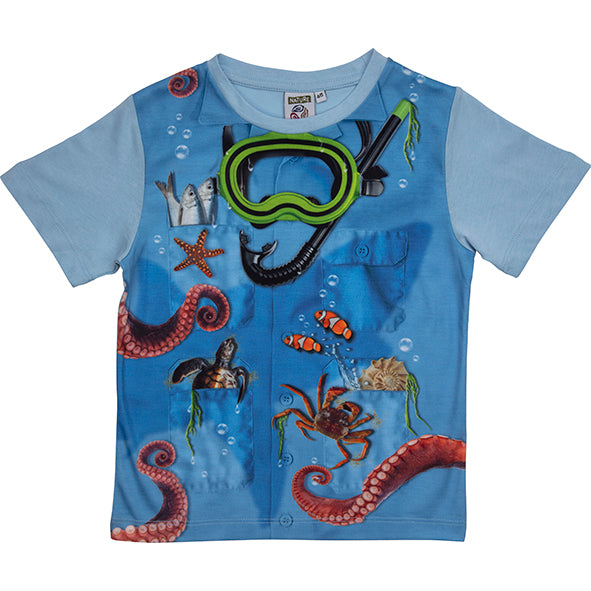 T-shirt Jr. Marine Keeper 2-3 Years
