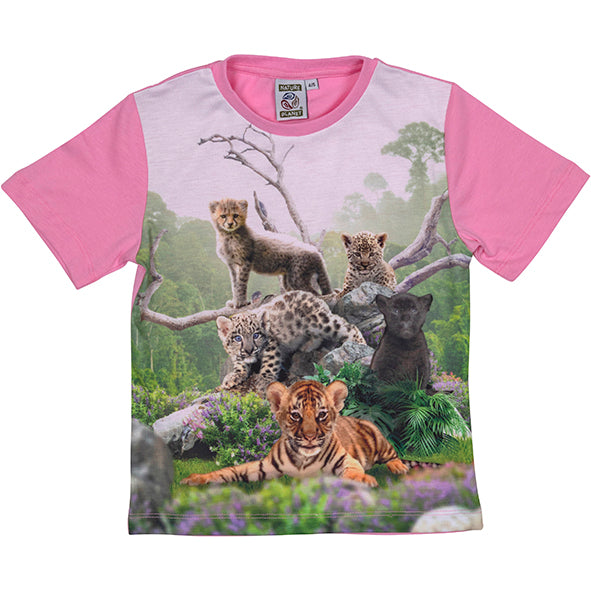 Load image into Gallery viewer, T-shirt Wild Cats 4-5 Years