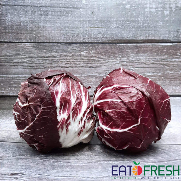 Lettuce Chicory Red (Radicchio) - 1 pc - Eat Fresh SG