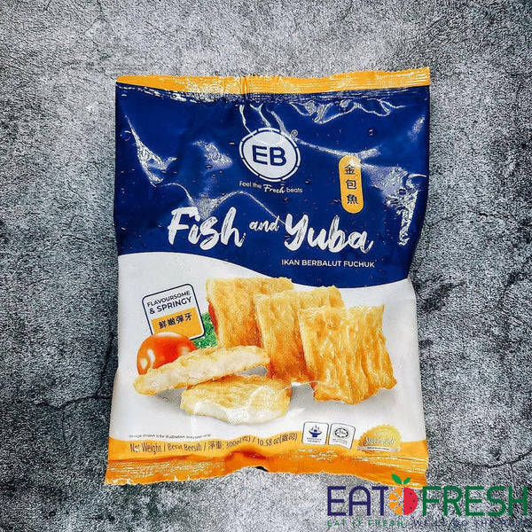 Frozen Fish and Yuba (EB) - Pack of 300g
