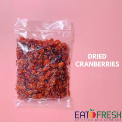 Dried Cranberries (Ruby) - 250g per pack