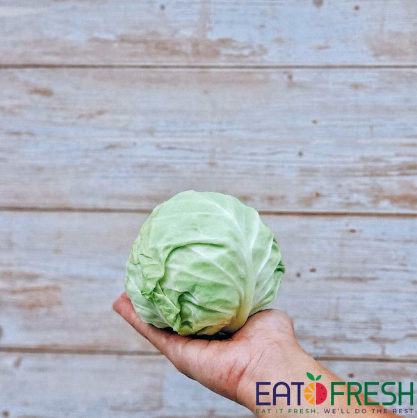 Cabbage (Beijing) - 1 pc (800g - 1kg)-Eat Fresh SG