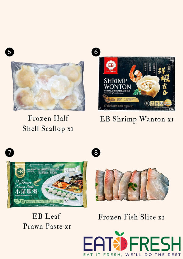 CHU x EF Steamboat Seafood Set