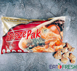 Frozen Crispy Popcorn Chicken (FreezePak) - 1 kg per pack