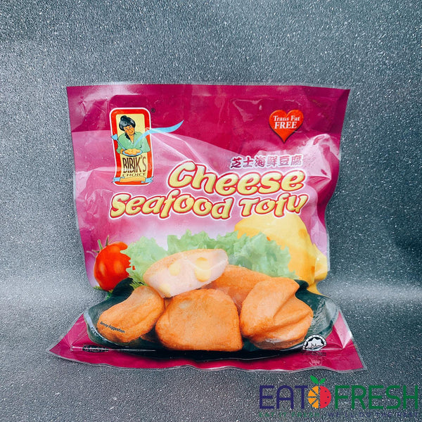 Frozen Cheese Seafood Tofu (Bibik) - 400g per pack-Eat Fresh SG
