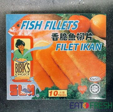 Frozen Fish Fillets (Bibik) - 500g per pack