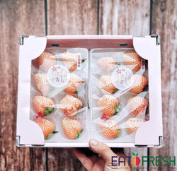 Japan Premium Strawberry (Pink) - per box of 2 punnets #while stocks last