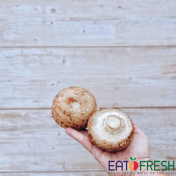 Mushroom (Portobello) - 300g per pack - Eat Fresh SG