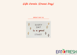 Gift Cards (Great Day) - 1 pc