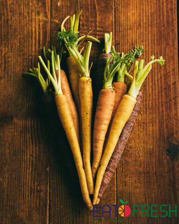 Carrots (Multi-Coloured) - 250g per pack