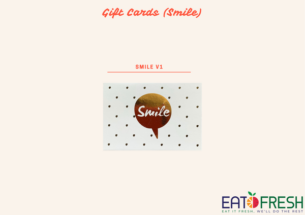 Gift Cards (Smile) - 1 pc