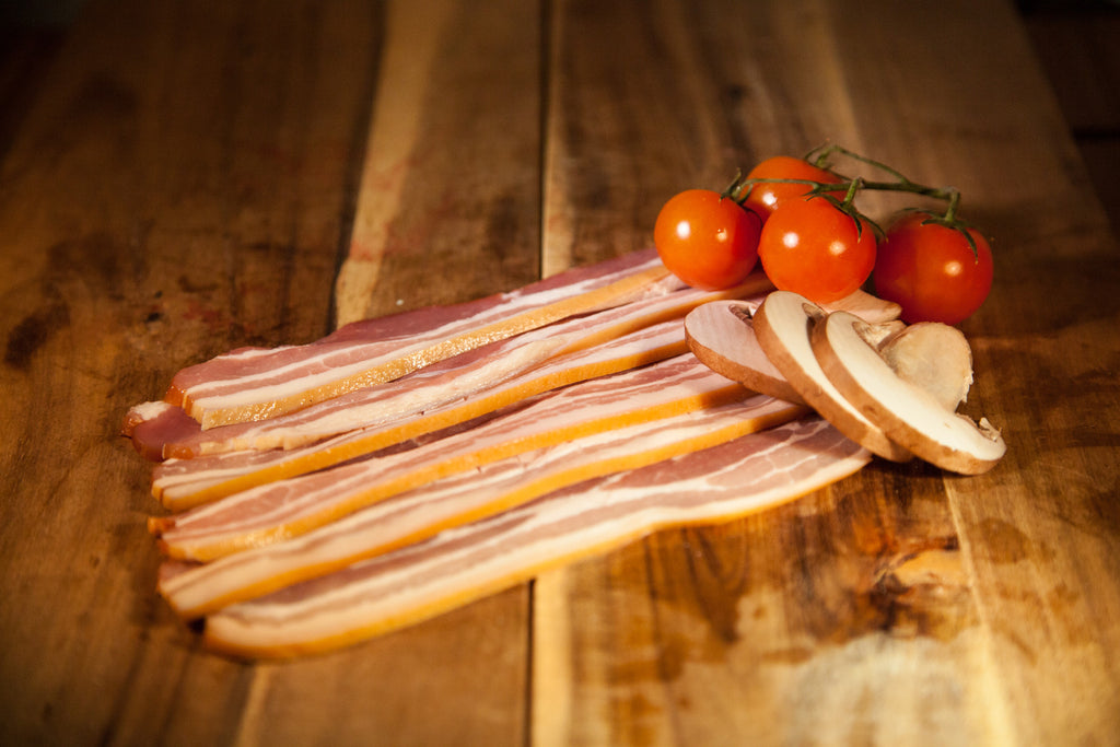 Traditional Dry Cured Smoked Streaky Bacon