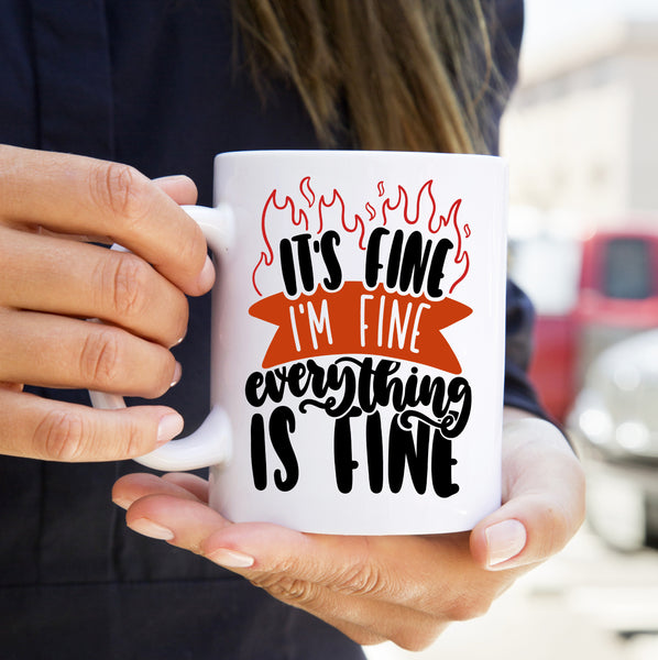 The It's F*cking Fine, OK? Mug