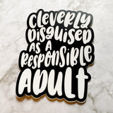 Clever Disguise Sticker