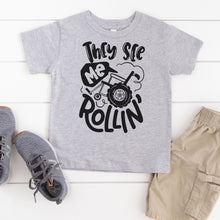 Load image into Gallery viewer, They See Me Rollin' - Toddler + Youth T-Shirt