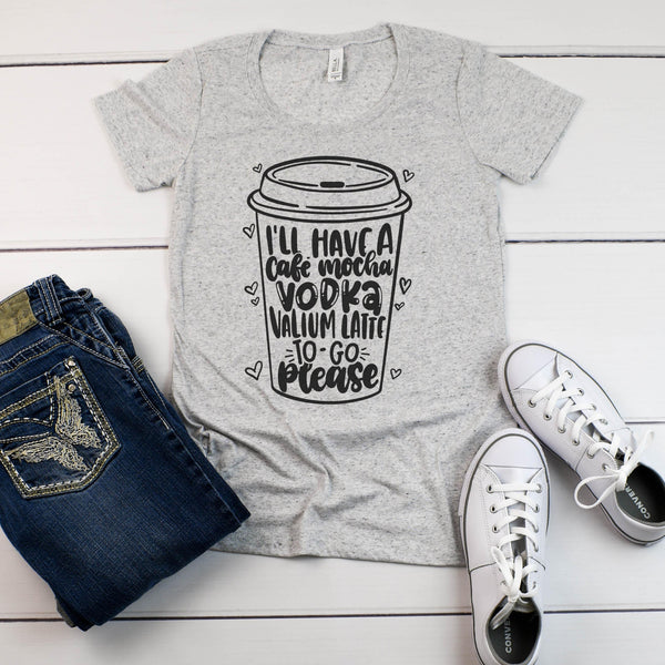 Vodka Valium Latte T-Shirt