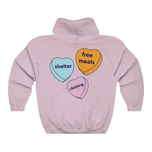 Chalmers Candy Hearts Hoodie