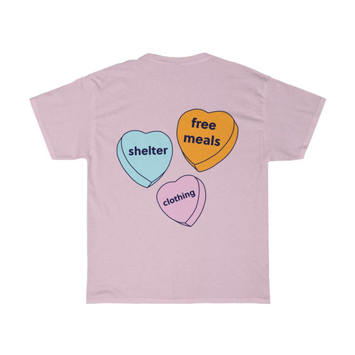 Chalmers Candy Hearts Tee