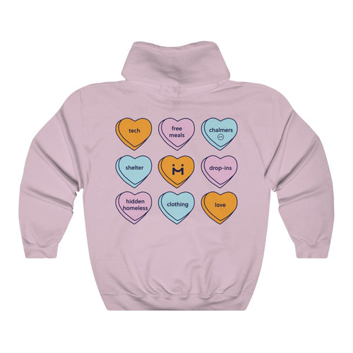 Ample Labs Candy Hearts Hoodie