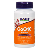 CoQ10 60mg with Omega 3 Fish Oils