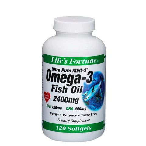 Ultra Pure Meg-3 Omega-3 Fish Oil
