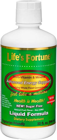 Life's Fortune Multi-Vitamin and Mineral Liquid